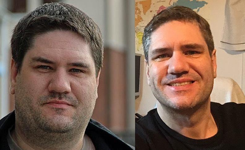 Mikael Reijer före och efter 60 kg
