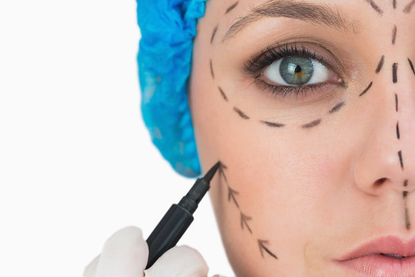 markering plastikkirurgi